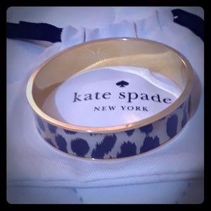 Kate Spade Leopard Bangle Bracelet